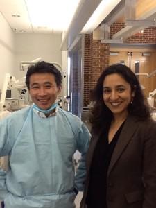 ペン大歯内療法学教室の先生の一人、インド出身のDr.Kohli